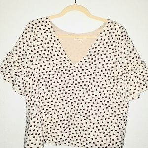 Anthropology Paper Crown blouse